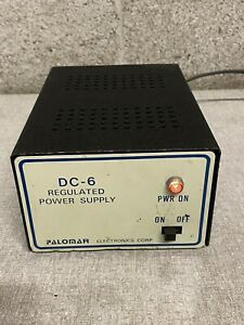 Palomar Dc 6 Regulated Power Supply
