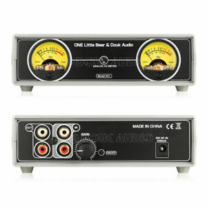 Analog Vu Meter Panel Db Sound Level Indicator W Backlight For Amplifier Preamp