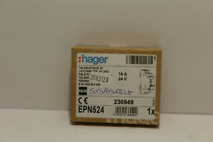 Hager Epn524 Latching Relay New