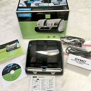 Bundle Dymo Labelwriter 450 Twin Turbo And Unopened Box Of Lw 30334 Labels