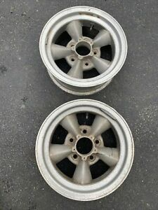 2 Vintage Real American Racing Torque Thrust Wheel 14 X 6 0 Offset 5 X 4 5