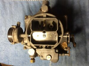 56 Chevy Corvette Carter Wcfb 4 Barrel Carb 2366s Dated J5