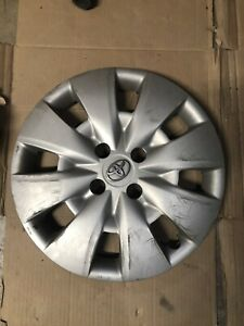 One 2009 2012 Toyota Yaris 61154 15 Hubcap Wheel Cover 42602 52400 Used