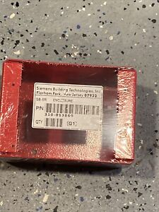 Siemens Sb 5r Nib Fire Alarm Enclosure Red