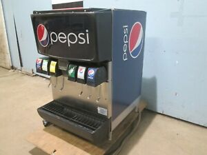 cornelius Md150 H d Commercial Lighted 6 Heads Counter Top Soda Dispenser