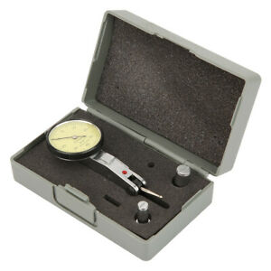 Dial Test Indicator Kit 0 0 8mm 0 01mm Metric Dovetail Clamp Dial Test Indicator