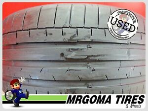 1 Continental Sportcontact 6 Ro2 Xl 245 35 19 Used Tire 55 Rmng 93y 2453519