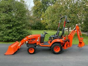 2008 Kubota Bx24 Tractor La240 Loader Bt601 Backhoe