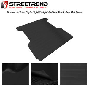 For 2004 2021 Nissan Titan 5 7 Ft Cab Rubber Truck Bed Trunk Floor Mat Liner V2