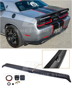 Eos For 08 Up Dodge Challenger Hellcat Redeye Style Rear Trunk Wing Spoiler