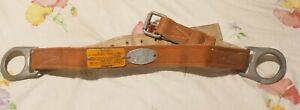 Klein Tools Safety Belt Model 87201 With 2d Rings Size Medium Rare Made In Usa