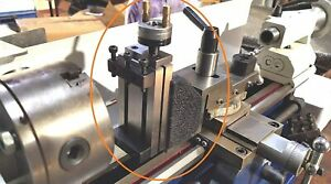 Mini Vertical Milling Slide Mounted On Z Type Caste Iron Angle Plate Machine