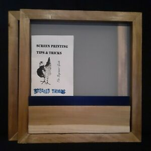 Screen Printing Frame 17 By 16 200 Mesh And Squeegee