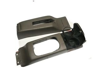 92 95 Honda Civic Ex Shifter At Cup Holder Console Oem Brown Cupholder 2pcs H z8