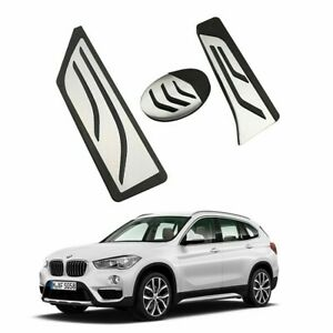 Performance Stainless Steel Anti Slip Pedal Covers For Bmw X1 F48 2 Series Lhd
