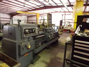 Lodge Shipley 24 X 96 Lathe Metal Working Fabrication Machine Tool