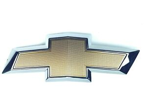Genuine Gm Oem 23136671 Chevy Equinox 2018 21 Front Grille Bow Tie Gold
