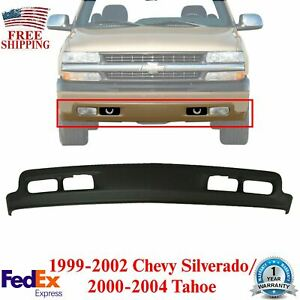 Front Lower Valance Air Deflector Primed For 99 02 Chevy Silverado 00 04 Tahoe