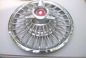 Oe 14 Inch Spinner Wire Wheelcover 65 66 Mercury Nice Driver Quality 978