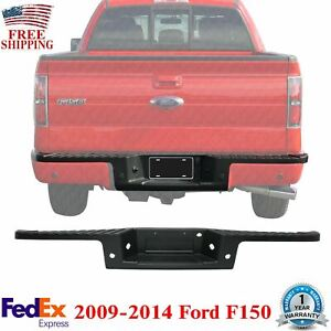 Textured Rear Bumper Molding Step Pad Cover For 2009 2014 Ford F150