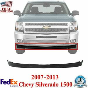 Front Lower Valance Deflector Extension Textured For 07 13 Chevy Silverado 1500