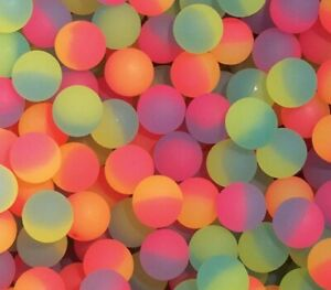 250 Icy 27mm Superballs High Bounce Bouncy Ball Balls