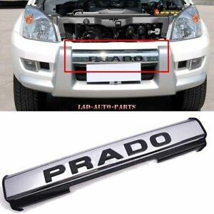Front Bumper Trim Chrome Strip For Toyota Prado Fj120 Lc120 2003 2009 Replace