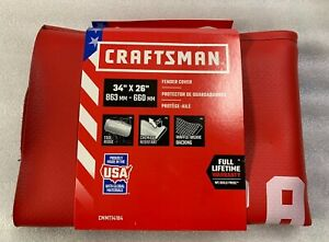 Craftsman Automotive Fender Cover Protector Cmmt14184 Red
