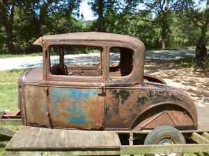 Model A Coupe Body Hot Rat Rod Ford Flathead V 8