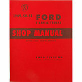 1948 1949 1950 1951 1952 Ford Pickup Truck Shop Manual All f Series Trucks