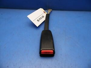 88 89 Honda Crx Oem Front Seat Belt Buckle Receiver Receptacle Latch Black