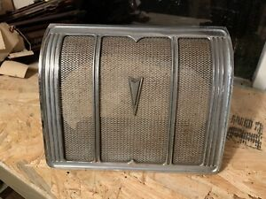 1965 1966 Bonneville Catalina Grand Prix Rear Seat Speaker Grille Cover 2