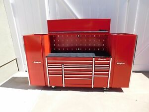 Used Snap On Tools Replica Scaled Tool Box Set 4 Pc s One Set Check Pics