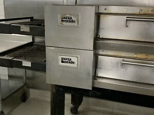 Pride Pizza Double Stack Electric Conveyor Pizza Oven