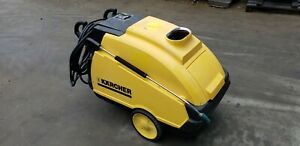 Used Karcher Hds 4 0 20 Em Ea 1ph diesel 4gpm 2000psi Hot Water Pressure Washer