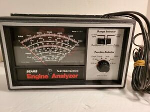 Sears Craftsman Solid State Electronic Engine Analyzer 161 216300