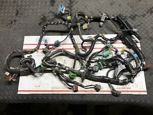 96 98 Honda Civic Engine Compartment Firewall Under Dash Wiring Harness 3736