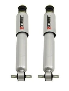 Belltech Pair Front Lowering Shocks W 2 5 Drop For 88 06 Gm C 10 Truck 2wd
