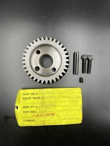Bridgeport Milling Gear Head Tilting 2193500 New Old Stock