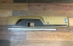 1970 71 72 73 Challanger Charger Cuda Console from A 1973 Charger Honey Gold