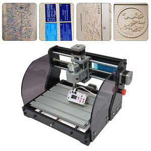 Pro 3018 Cnc Machine Router Engraving Pcb Wood Diy Mill Cutter Metal Steel 110v