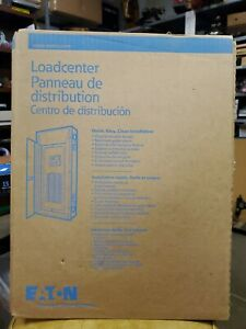 New Eaton Cutler Hammer Series Brp16l125 Indoor 125amp 16 Space 32 Circuits 1ph