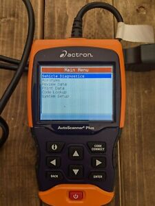 Actron Cp9680 Autoscanner Plus Obd Ii Scan Tool Codeconnect With Abs Airbag