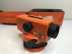Wild Heerbrugg Automatic Level Na0 Surveying Survey With Case