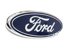2005 2007 Ford F250 F350 Super Duty Front Grille Blue Ford 9 Inch Emblem New