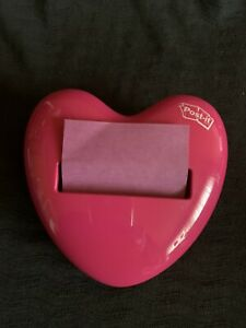 post It Note Holder pink Heart