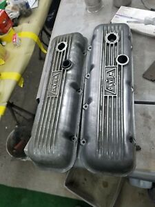 Vintage Weiand Valve Covers 396 427 454 402 Chevrolet Bbc Hot Rod