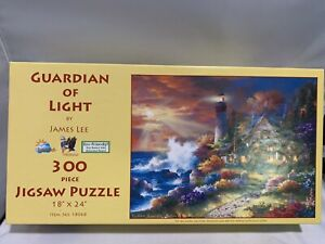 """Guardian of Light By James Lee 300 piece Jigsaw Puzzle 18"""" X 24"""" made in USA $14.99"""