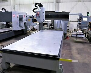 5 x10 Haas Model Gr510 3 axis Cnc Router Vertical