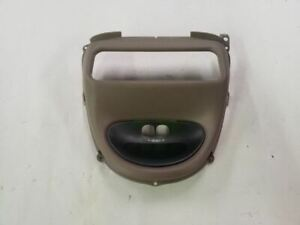 Tan Front Overhead Console Display Trim Bezel Fits 03 04 05 Ford Excursion